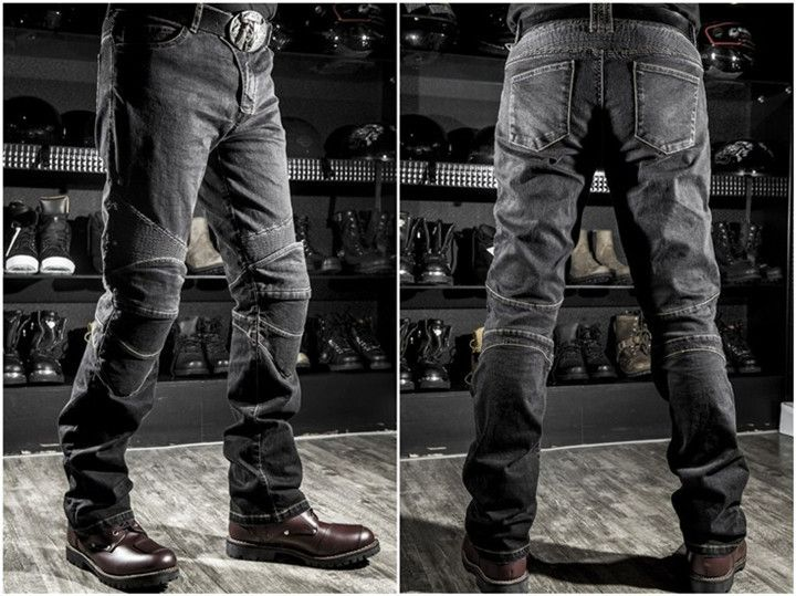 2017 High quality komine motorcycle jeans drop resistance slim denim jeans automobile race pants motorcycle pants plus size XXXL
