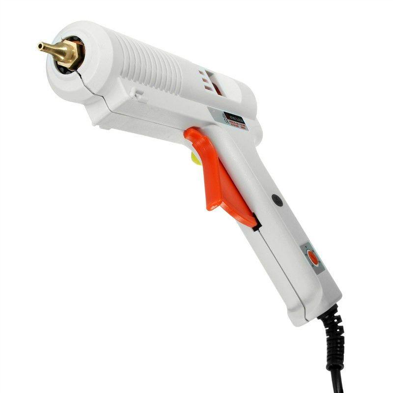 Pistolet À Colle chaude UE Plug Haute Température Chauffe-100 W/120 W réglable température constante thermofusible pistolet à colle greffe De Réparation pour AY194-SZ
