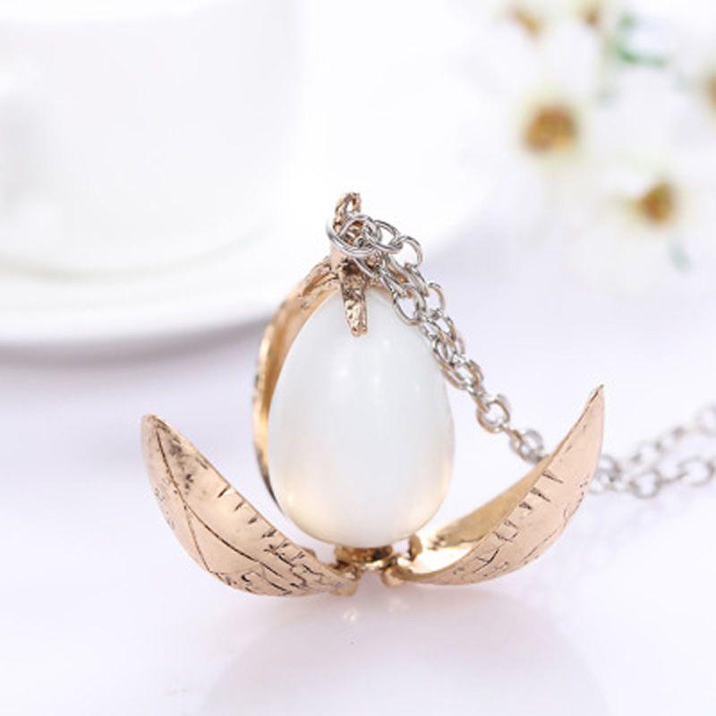 Harry Styles feu Dragon oeuf potier pendentif gobelet de feu Rotation activité unisexe magique ouvert cadeau Vintage collier en gros