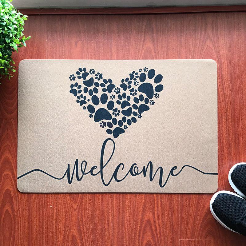 Personalized Doormat Funny Doormat For Entrance Door Dog Door Mats Outdoor Kitchen Carpet Floor Mat Welcome Mats For Front Door