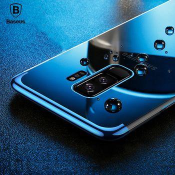 Baseus Cas transparent Pour samsung Galaxy S9/S9 plus Cas Glitter Série Placage dur PC Shell pour samsung Galaxy S9 plus