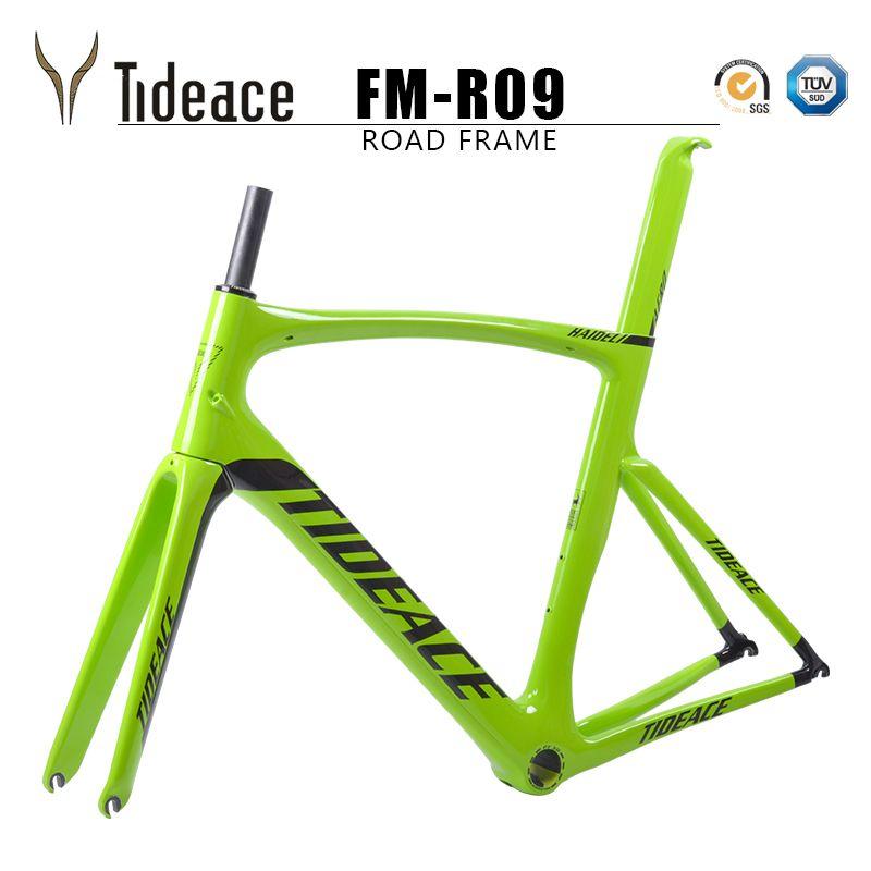 2018 Carbon Road Bike Frame Chinese Carbon Road Frame Cycling Bicicleta 54cm PF30 Road Bike Frame Road Carbon Frameset