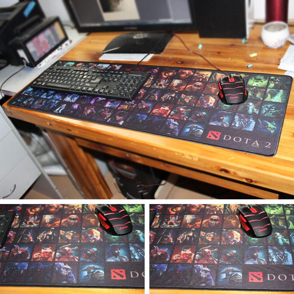 MaiYaCa 2018 nouveau Design Simple vitesse DOTA 2 jeu tapis de souris ordinateur jeu tapis de souris Gamer tapis de jeu Version tapis de souris
