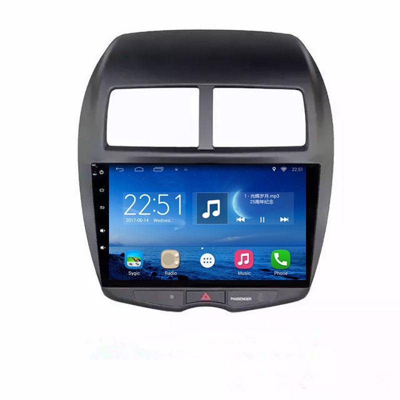 ChoGath 10.2 inch Quad Core Android 6.1 Car Radio for Mitsubishi ASX 2011 2012 2013 2014 2015 2016 With Bluetooth 16GB ROM Wifi