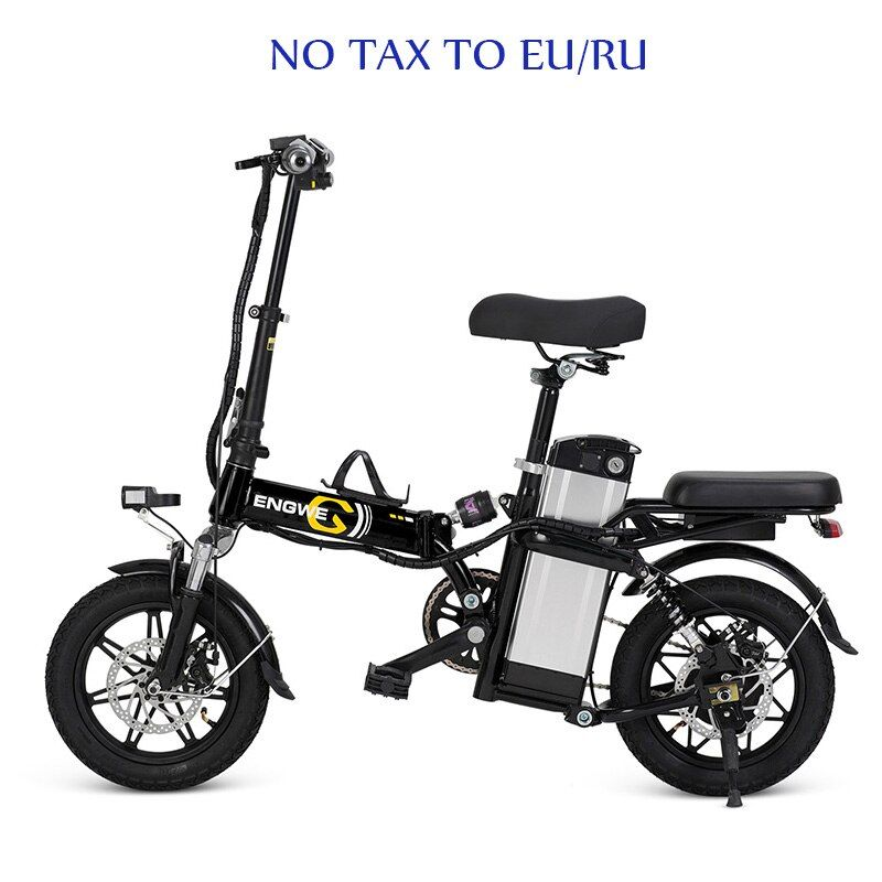 14 inch Aluminum Folding Electric Bike 48V23.4A Lithium Battery 350W with On behalf of the electric Bicycle e Scooter bike power