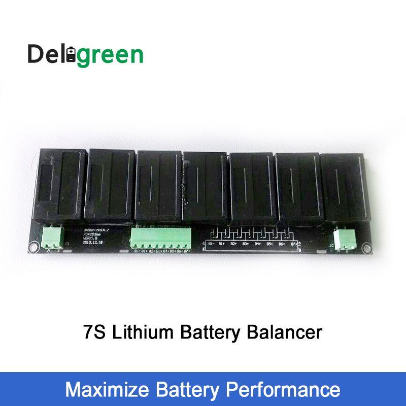 QNBBM 7S 15V 24V Battery Active Balancer BMS for LIFEPO4,LTO,Polymer ,LMO,LI NCM LI-ion battery 18650 DIY Pack