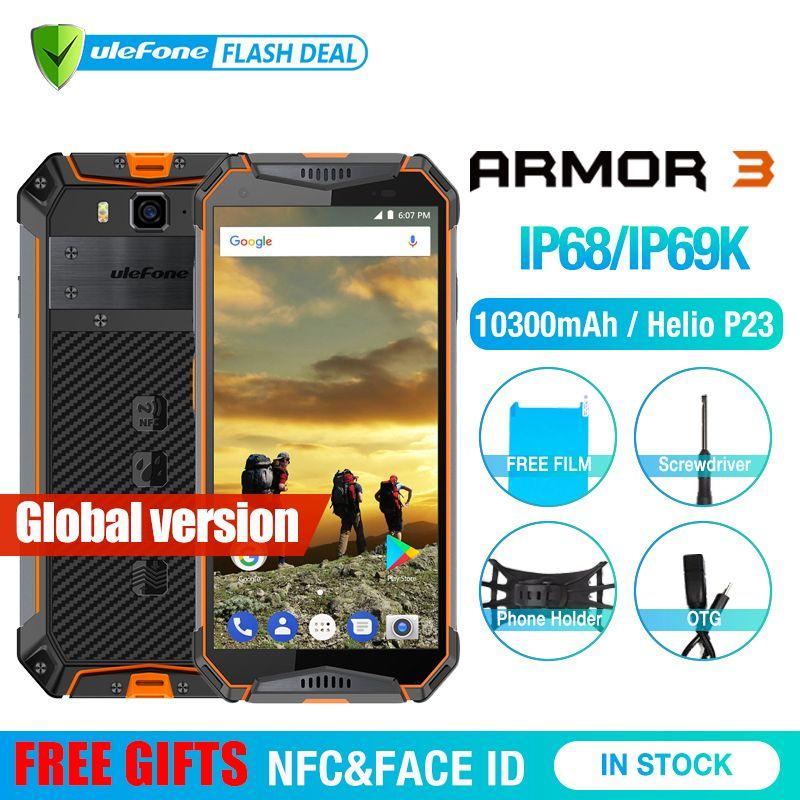 Ulefone Rüstung 3 IP68 Wasserdichte Handy Android8.1 5,7