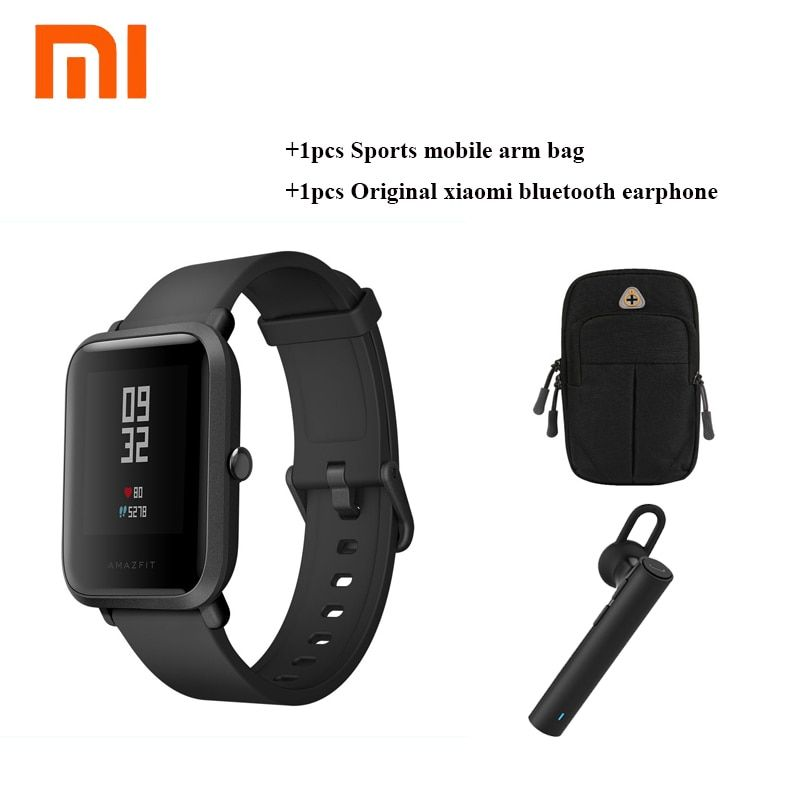 Original Xiaomi Huami Amazfit Bip BIT PACE Lite Youth Verison Smart Watch With GPS Fitness Tracker Waterproof Compass