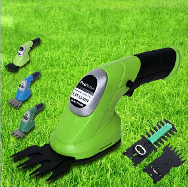 Hight Quality 2 in 1 Combo Lawn Mower Li-Ion Rechargeable Hedge Trimmer Grass Cutter Cordless East Garden Power Tool 3 Colors
