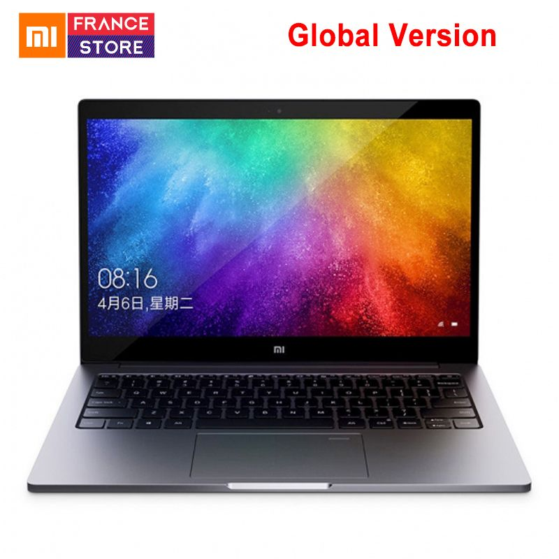 Globale version Xiaomi Notebook Air 13,3 Quad-Core Enhanced Edition Fingerprint Anerkennung Intel Core i5 8250U 8 GB 256 GB laptop