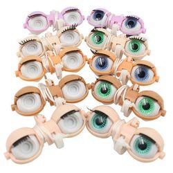 Hanya untuk Blyth Doll Mata Mesin Aksesoris Sekrup T-Bar C-Bar Eyechips Murid 1/6 30 Cm hadiah Mainan