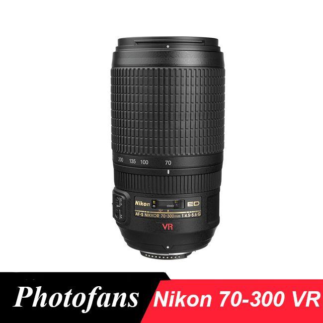 Nikon 70-300 ED VR Objektiv Nikkor AF-S 70-300mm f/4,5-5,6G ED-IF VR Professionelle Dslr Linsen