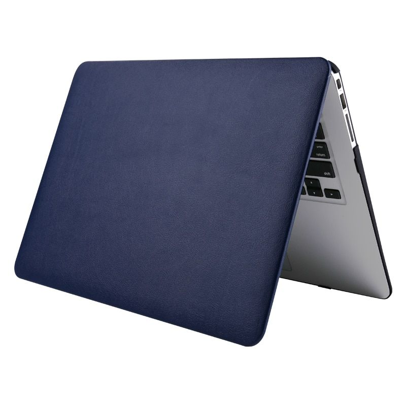 Laptop Case For Apple MacBook Air Pro Retina 11 12 13 15 Leather Plastic Hard Case Cover New Pro 13 15 inch with Touch Bar Case