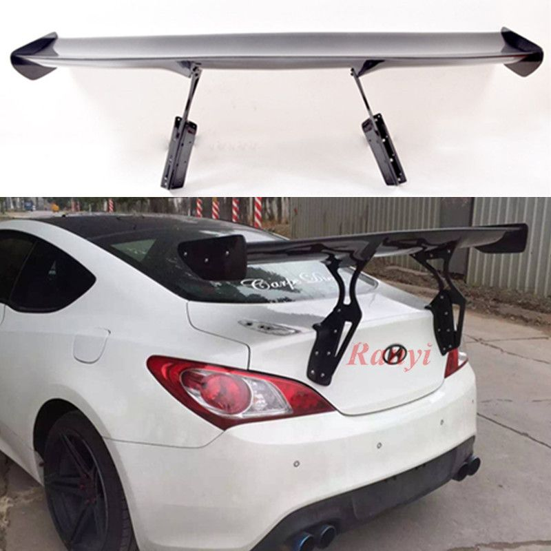 Genesis Coupe Carbon faser Rocky Bunny Spoiler für Hyundai Genesis Coupe carbon stamm Spoiler