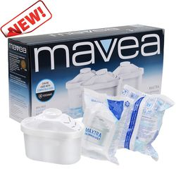 Kettle Filter MAVEA 1001122 Maxtra Replacement Filter for Brita MAVEA Maxtra Water Filtration Pitcher Water Filter 3 Pcs/lot