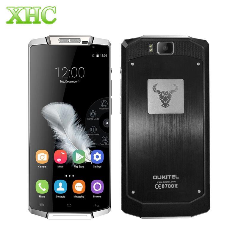 OUKITEL K10000 LTE 4G Cellphone 10000mAh Battery RAM 2GB ROM 16GB 5.5'' Android 6.0 MT6735P Quad Core Dual SIM 8MP Mobile Phone