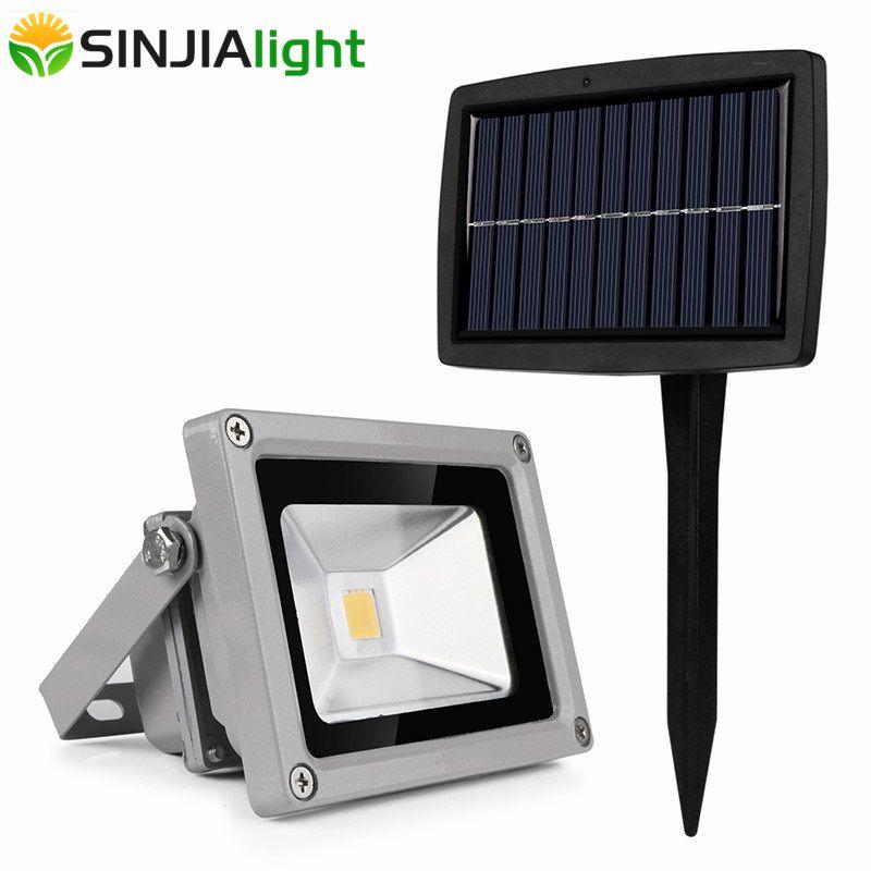 LED Solar Floodlight Waterproof Spotlight Solar Lamps Flood Light Path Garden Light Outdoor Lighting Lampada Solar Panel Lights
