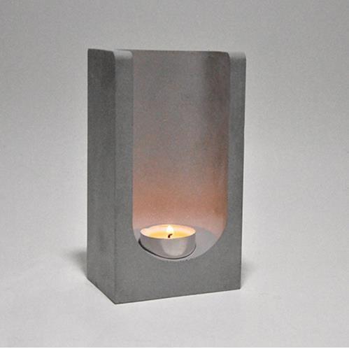 Kreative beton kerze halter silikon form zement pflanzer kerzenhalter home büro dekoration aromatherapie kerze tasse formen