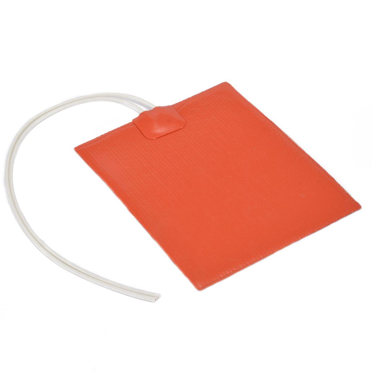 12 v 12 watt Silikon Gummi Heizung Panel Konstante Temperatur Heizung Panel Platte 100*120mm Für Heizung Werkzeug