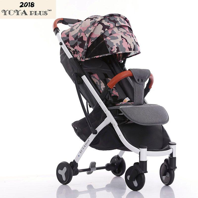 YOYAPLUS 2018 Neue Stil baby kinderwagen licht klapp dach auto kann sitzen können liegen ultra-licht tragbare auf die flugzeug 6