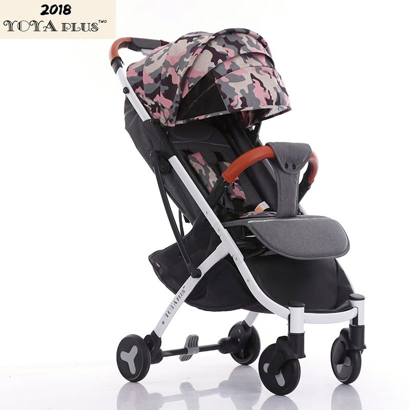 YOYAPLUS 2018 New Style baby stroller light folding umbrella car can sit can lie ultra-light portable on the airplane 6