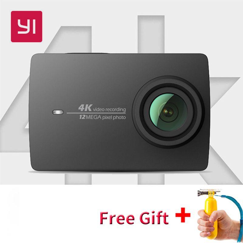 Xiaomi YI 4K <font><b>Action</b></font> Camera International Ambarella A9SE Mini Sports Camera 2.19 LDC Screen 12MP 155 Wide Degree Lens LDC WIFI