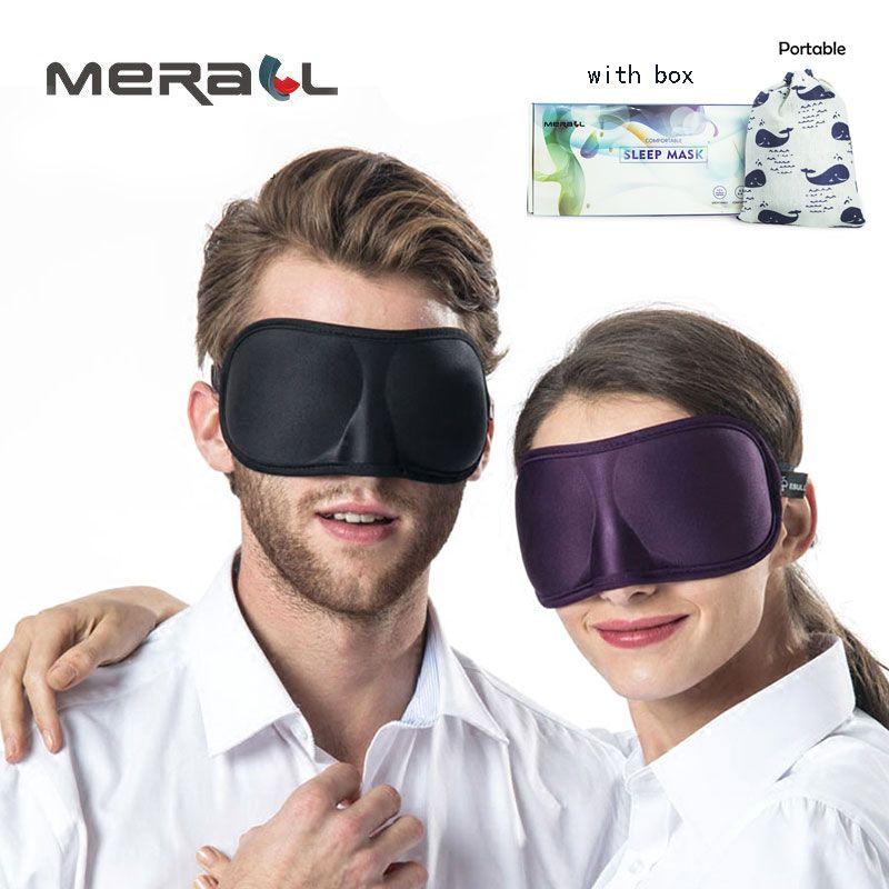 3D Ultra-doux respirant tissu Eyeshade Sommeil Masque Pour Les Yeux De Voyage Portable Sommeil Repos Aide Masque Pour Les Yeux Pour Les Yeux Patch masque de sommeil