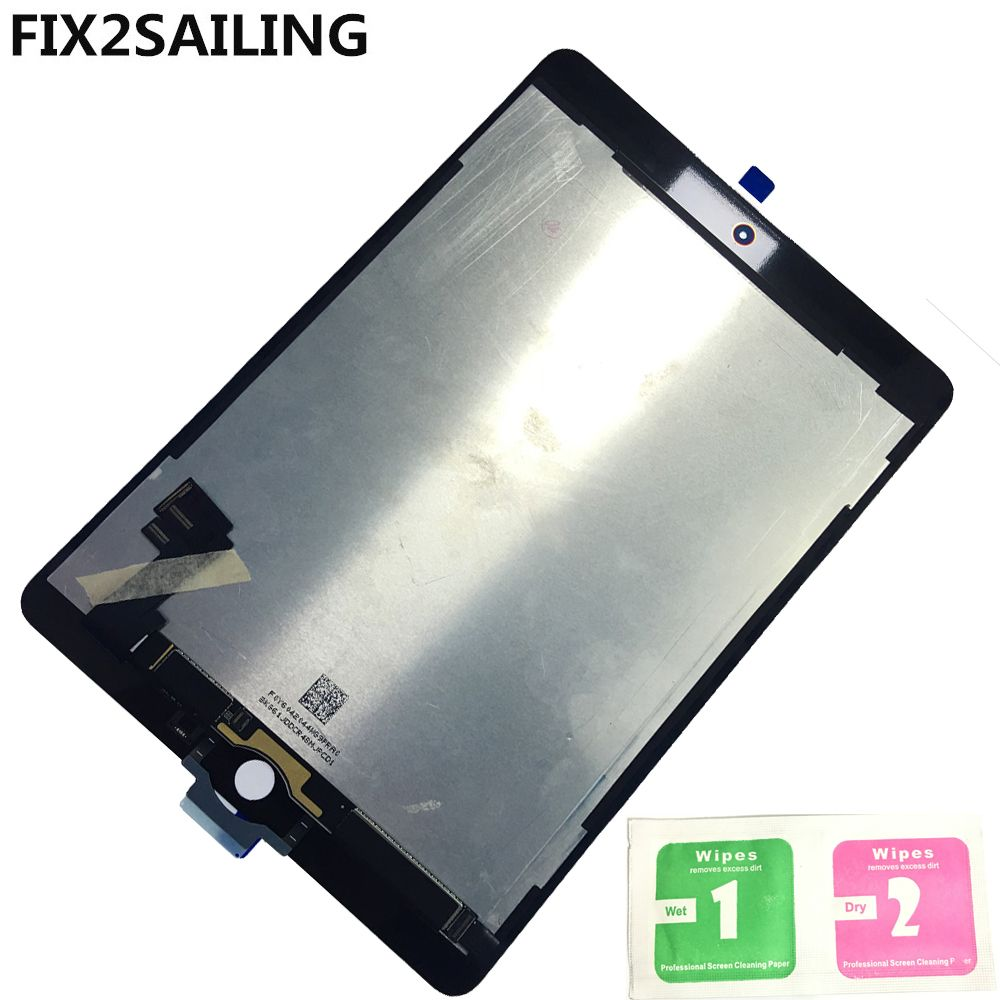 LCD A1567 For Apple iPad 6 Air 2 A1567 A1566 9.7'' 100% New Grade LCD Display Touch Screen Digitizer Assembly Replacement