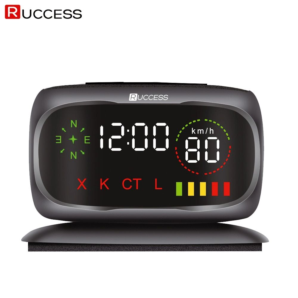 Ruccess S800 Radar Detectors Police Speed Car Radar Detector GPS Russian 360 Degree X K CT L antiradar Car Detector