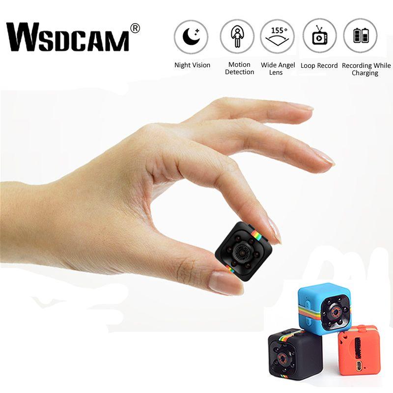 Wsdcam SQ11 HD mini caméra IP Petit Cam 1080 P Capteur vision nocturne Caméscope Micro caméra vidéo DVR DV Enregistreur De Mouvement Caméscope