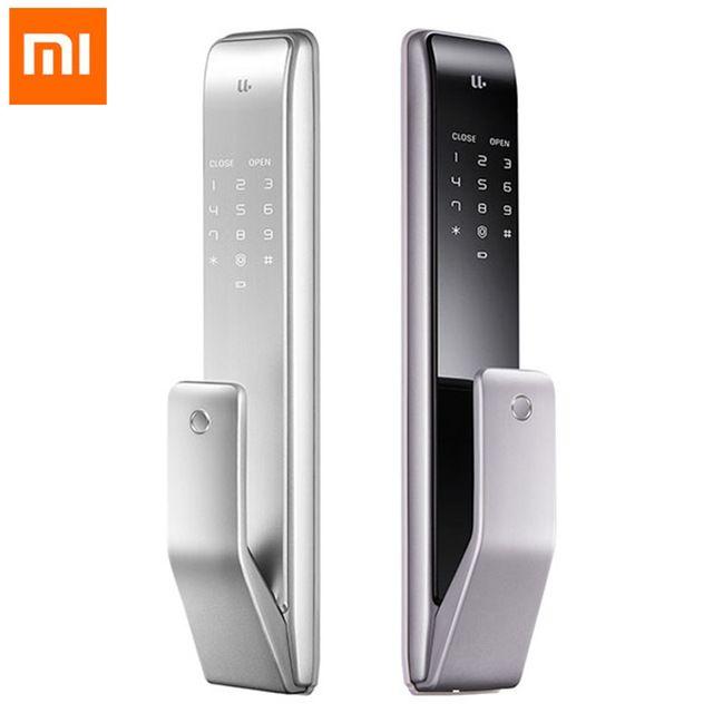 Xiaomi Youpin M2 Automatische Fingerprint Schiebe-sperre Smart Schiebe-sperre Automatische Push-Pull Smart Fernbedienung Für Mijia APP #3