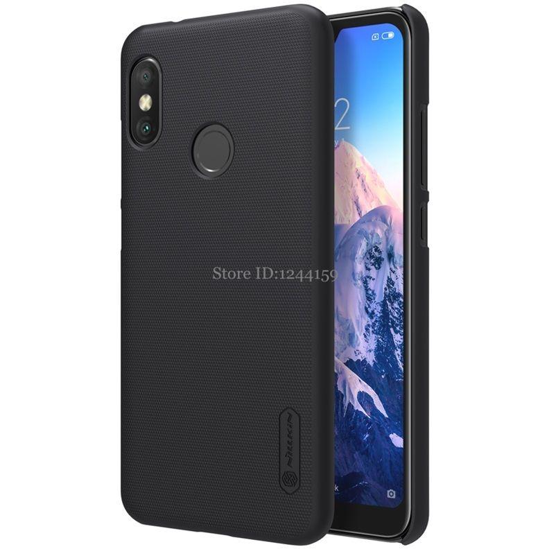 Xiaomi Mi A2 Lite Case Nillkin Frosted Hard PC Plastic Phone Bag Back Cases for Xiaomi MiA2 a2 Lite Cover Nilkin A2 Lite Capa