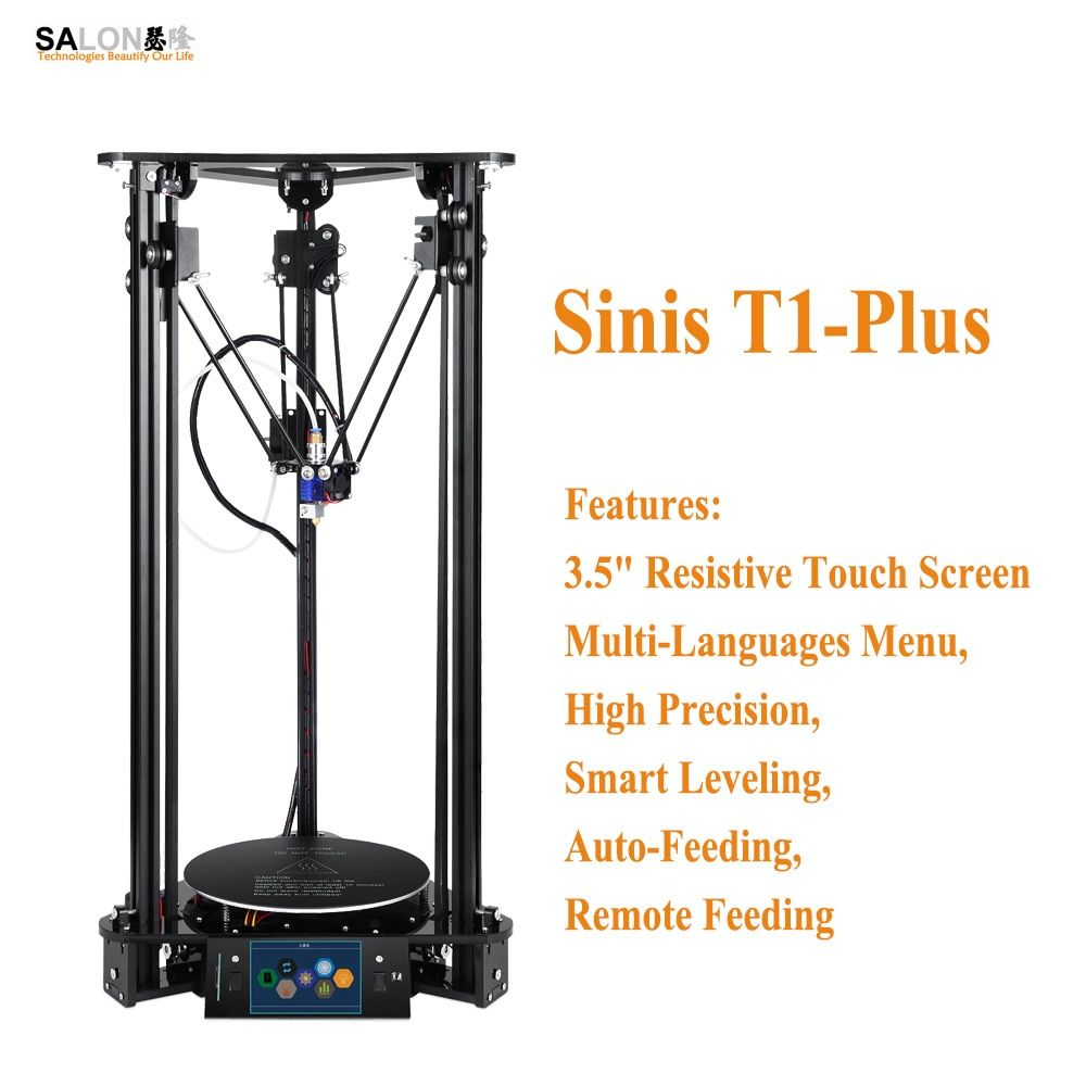 Sinis T1-Plus Optional Low Impact Laser Engraver 3d Printer Multi-Functional Intelligent Leveling Impressora 3d with 3.5