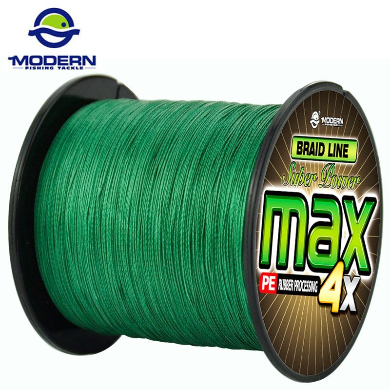1000M MODERN FISHING Brand Super Strong Japan Multifilament PE Braided Fishing Line 4 Strands Super Strong 8 10 20 30 40 60 80LB