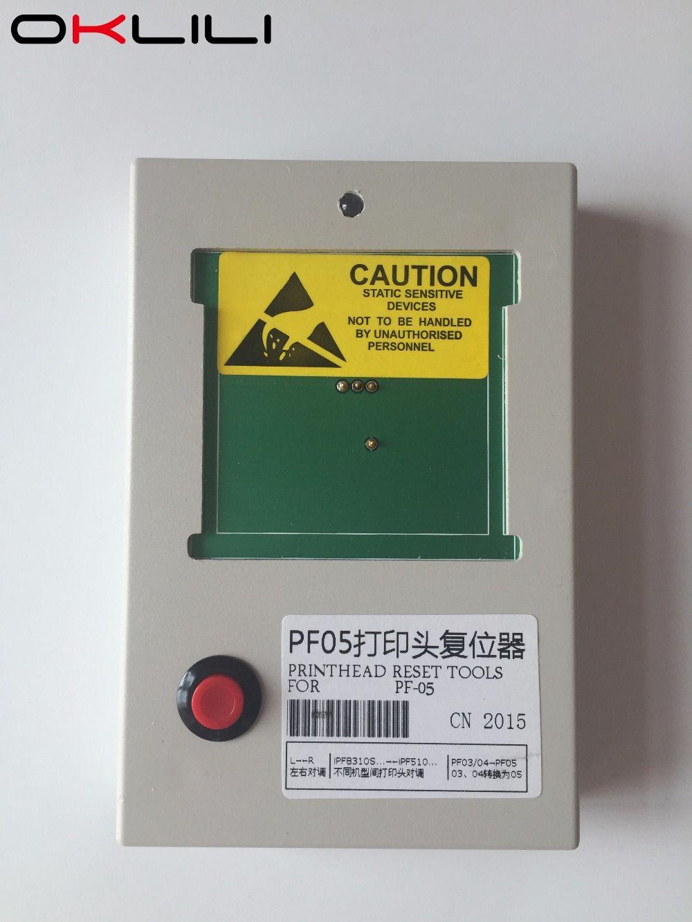 PF-05 Reset PrintHead Print Head Printer Head Chip Resetter Decoder for Canon iPF6300 6350 6400 6450 6460 8300 8300S 8400 9400