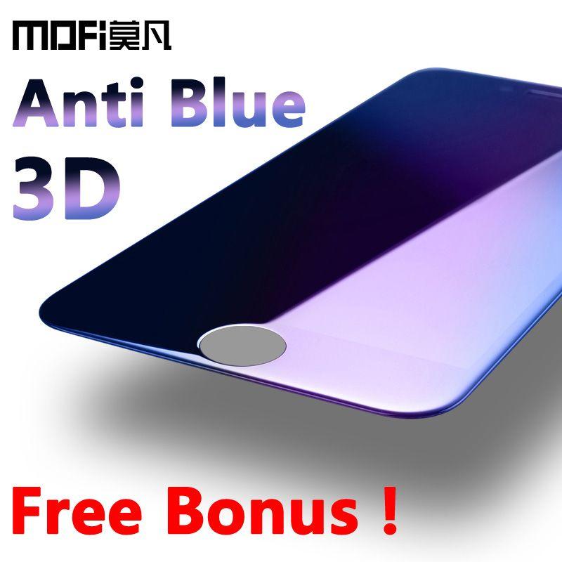 Mofi pour iphone 6 s verre trempé iphone 6 plus protecteur d'écran ultra mince couverture complète 3D courbe protection en verre film plus 5.7