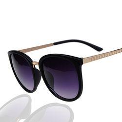 Lunettes De Mode ronde Surdimensionné lunettes de Soleil Femmes Marque Designer De Luxe Femmes Lunettes Grand Pas Cher Nuances Hd Lunettes Oculos