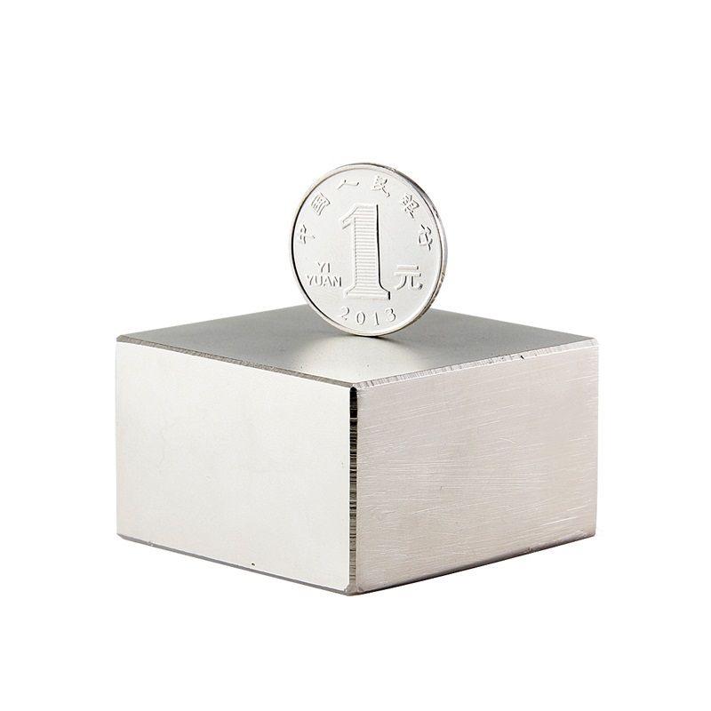 50 stücke Block 50x50x30mm Super Starke Seltenerd-magneten N42 Neodym Magnet Hohe Qualität