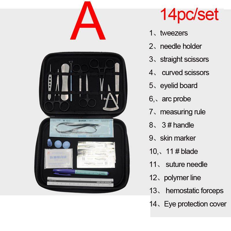 Augenlid Werkzeuge Ophthalmic Mikrochirurgische Instrumente Hand chirurgie Grundlage Practice Ausrüstung Paket Werkzeuge Hohe Qualität