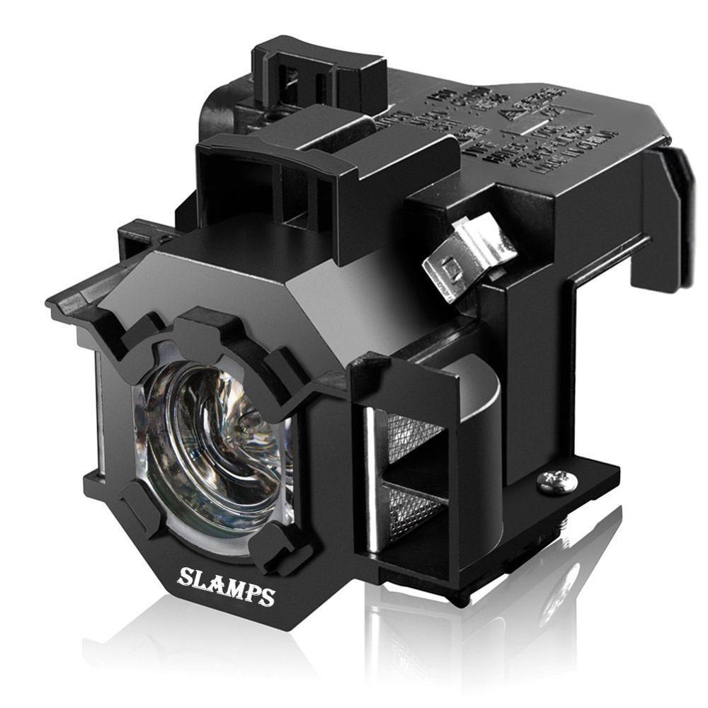Compatible EMP-S5 EMP-S52 EMP-T5 EMP-X5 EMP-X52 EMP-S6 EMP-X6 EMP-260 EB-S6 EB-S6 + lampe De Projecteur ELPL41 V13H010L41 pour Epson