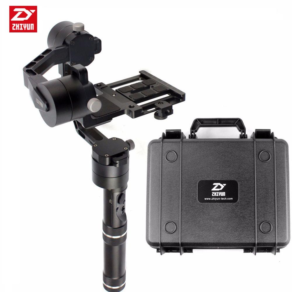 Zhiyun Grúa V2 3 eje Estabilizador De Mano 3-axi cardán para DSLR Canon Cámaras Soporte 1.8 KG