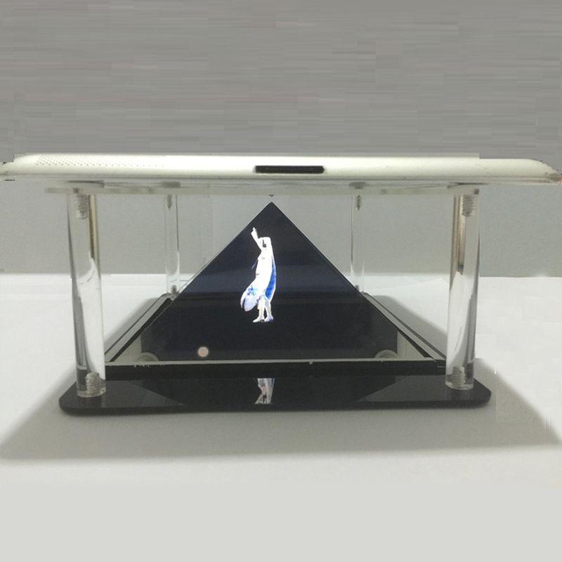 Tablette holographique PC 3D pyramide de Projection holographique bricolage pour 7 à 10.1 pouces tablette PC iPad téléphone projecteur