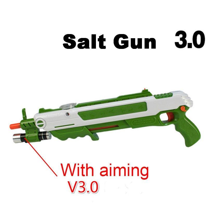 12type Hot Summer Gift Bug A Salt Fly Gun Salt Pepper Bullets Blaster pistola airsoft Gun kill Mosquito flyToy outdoor Salt Gun