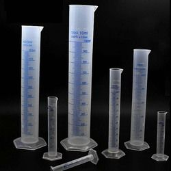 1 PC 100 Ml Mengukur Silinder Silinder Lulus Mengukur Lulusan Plastik Tingkat Sarjana