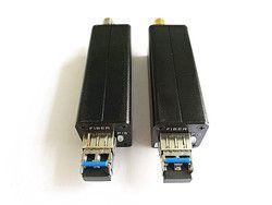 Mini HD-SDI Optical Transceiver Serat untuk SDI Media Converter Video Melalui Serat