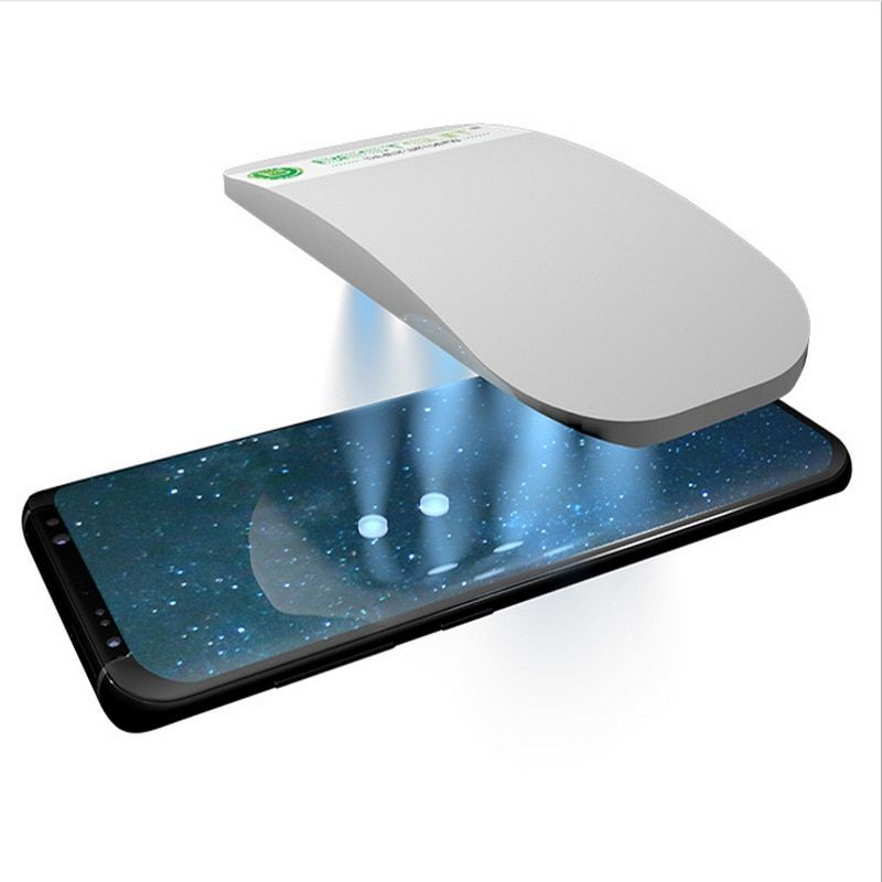 Liquid Full Glue 3D Tempered Glass Screen Protector with Install Kit For Samsung Galaxy S9 S9 Plus 2pcs Glass with 1 UV Light