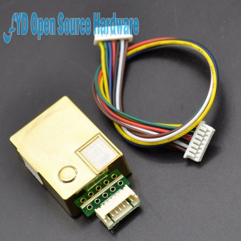1 pcs MH-Z19 NDIR CO2 Module De Capteur infrarouge capteur de co2 0-5000ppm