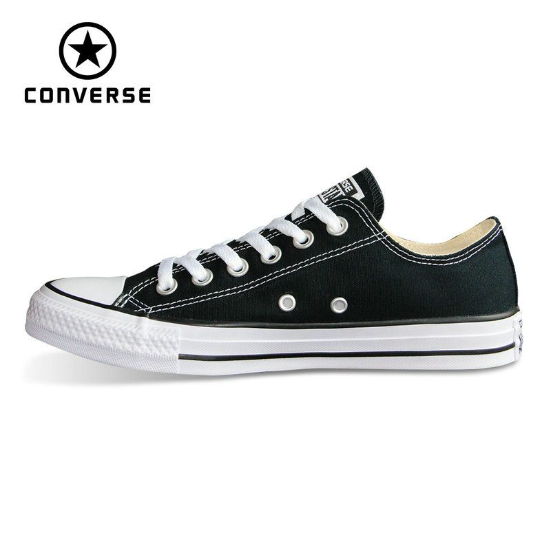 New Original Converse all star shoes Chuck Taylor low style man and women's unisex classic sneakers Skateboarding Shoes 101001