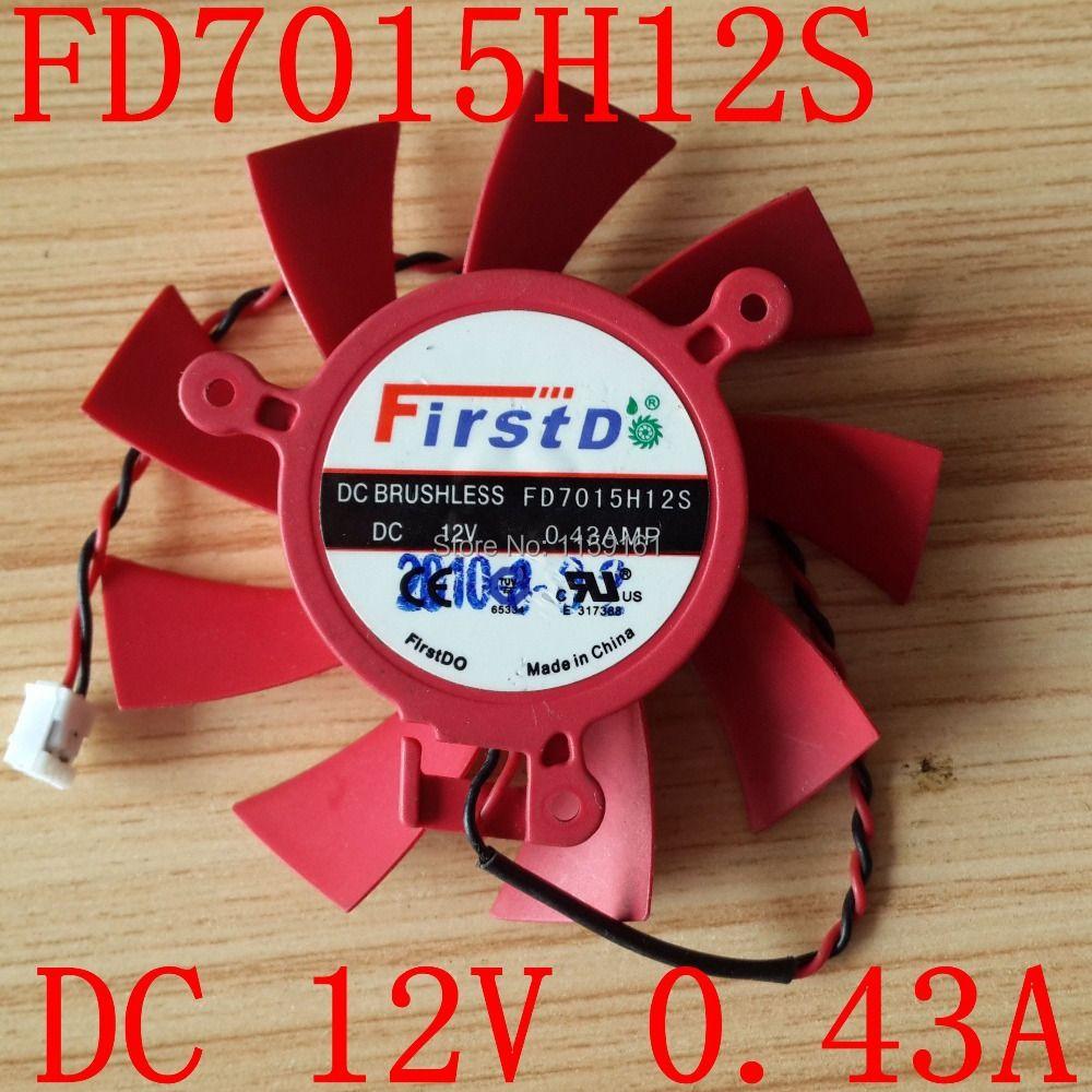 Livraison gratuite FD7015H12S 12 V 0.43A pour ATI HD 5770 HD5830 HD5850 ventilateur de refroidissement