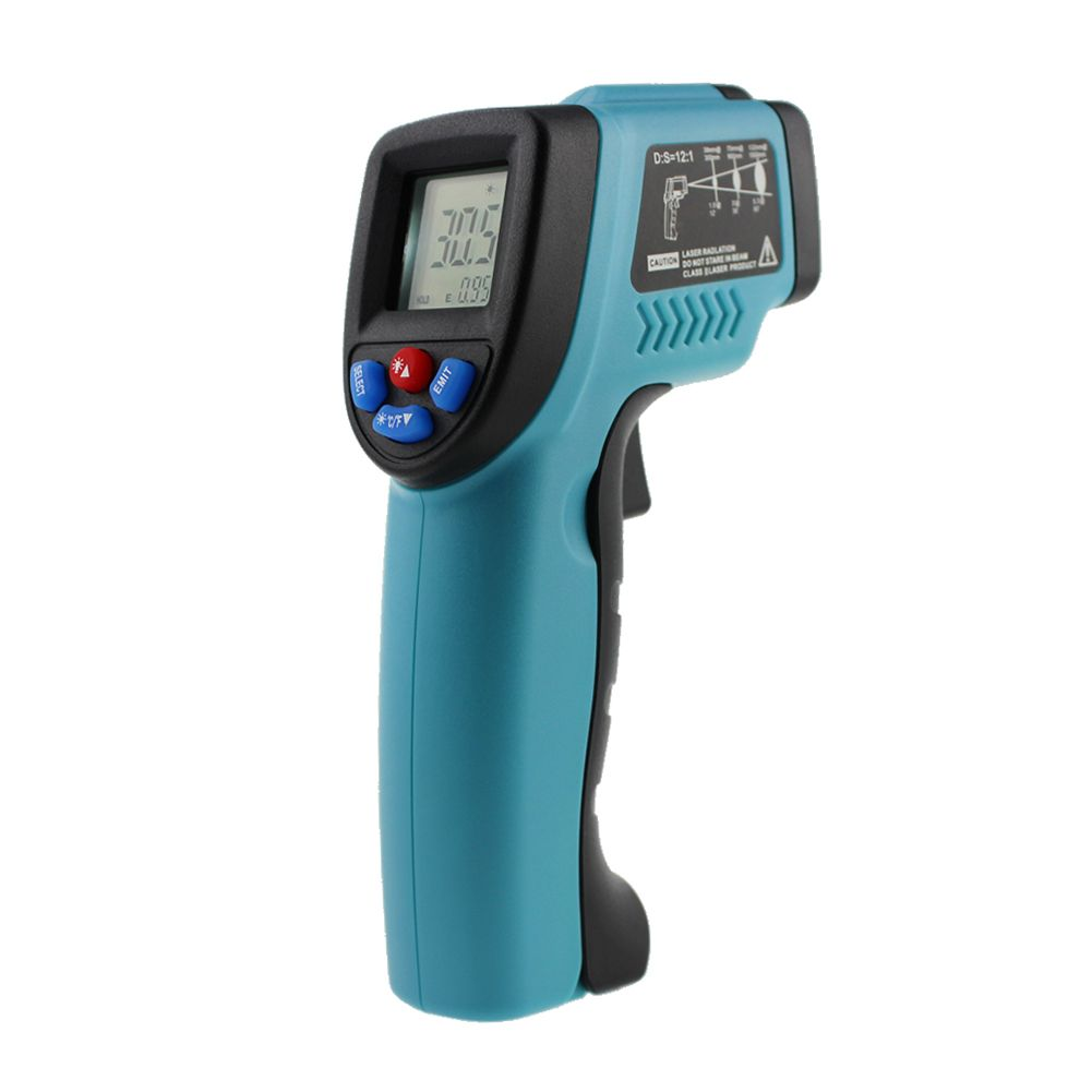 GM550 Digital Infrared Thermometer Pyrometer Aquarium Laser Thermometer Outdoor Thermometer IR Laser Point Tool